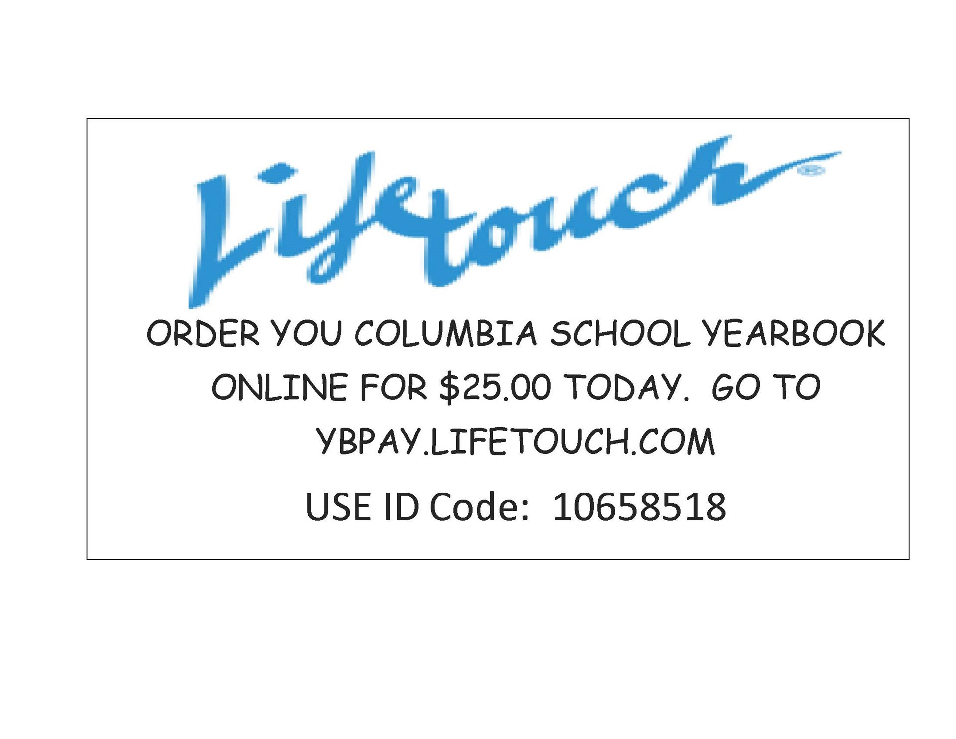 Life Touch Yearbook