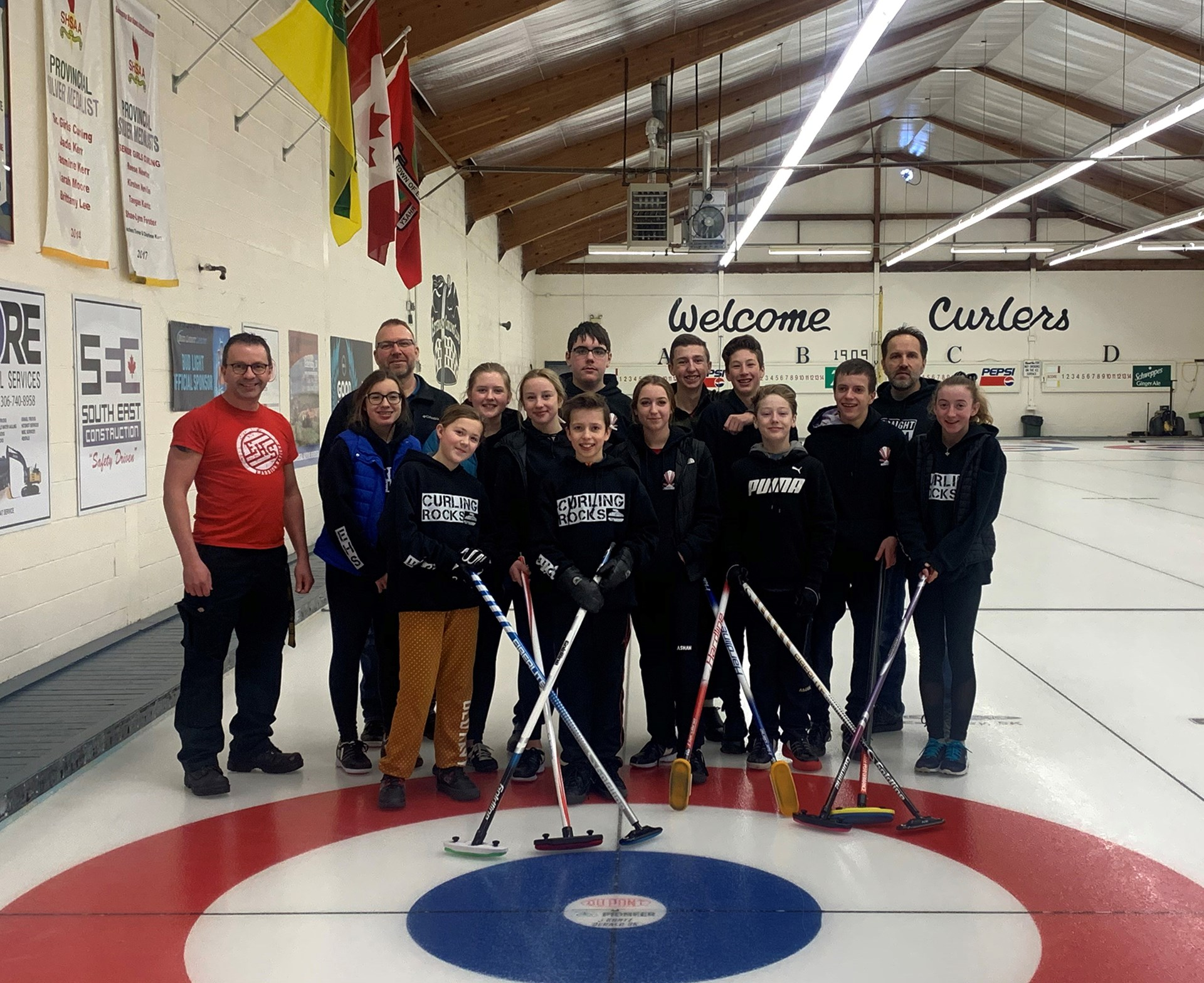 EHS Junior Curling Team