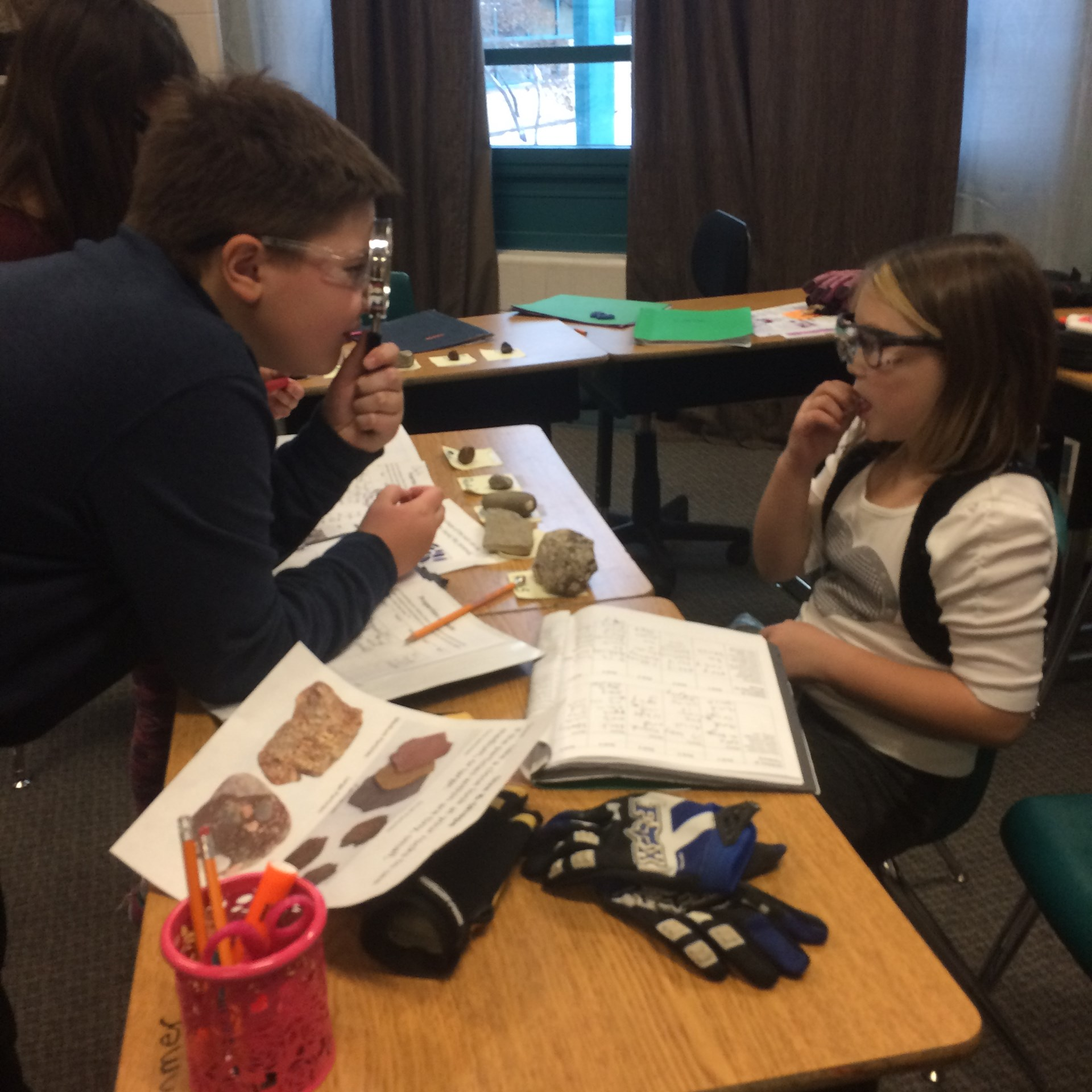 Student Learning: Rock Study