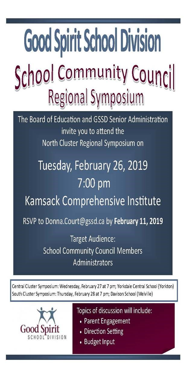 SCC Regional Symposium February 26, 7pm at the KCI