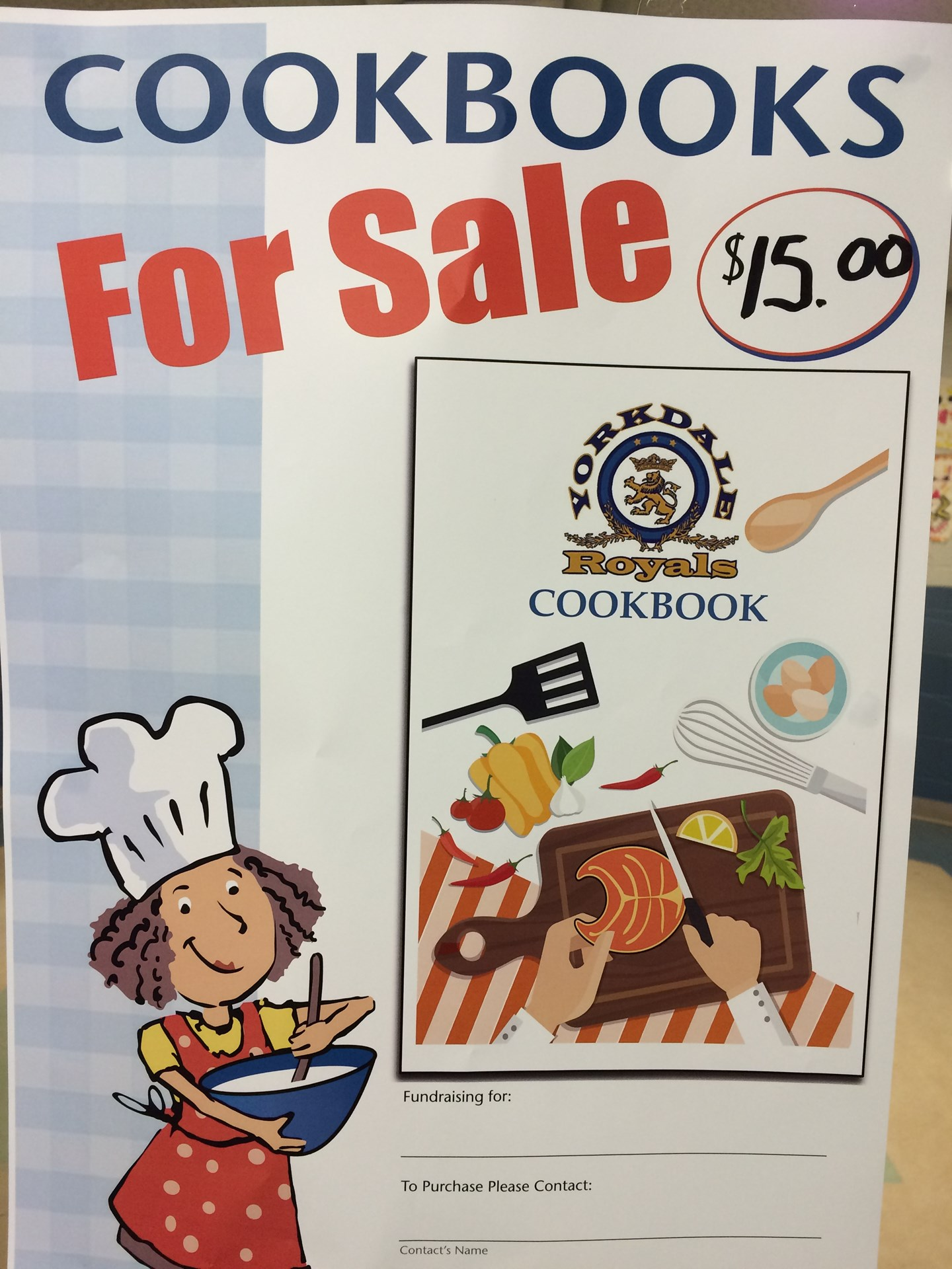 YCS Cookbook on Sale! Support your SCC