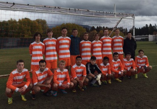 YRHS Boys Soccer Visits British Columbia