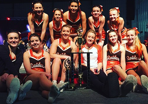 Cheerleaders Win Tournament