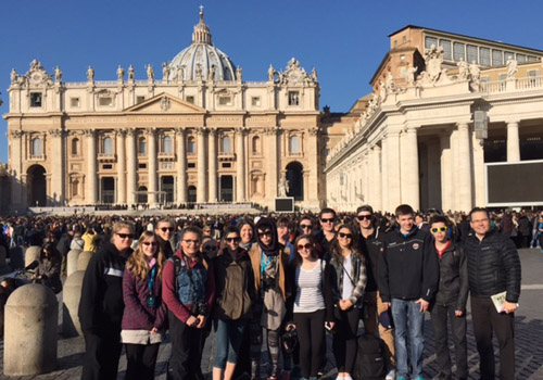 YRHS Educational Tour to Italy