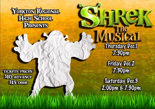 The YRHS Presents Shrek: The Musical