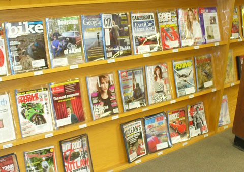 7.Periodical Collection. The most recent issue of each magazine is  displayed on the periodical shelving. Back issues are stored in the library  office, ...