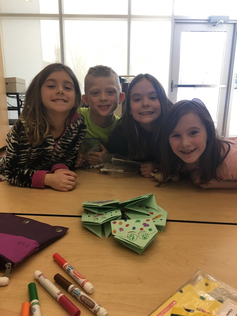 Grade 2 origami ! Mrs Zerr's guided reading group !