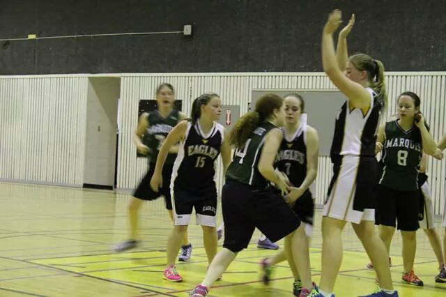 Jr. Girls Basketball Home Tournament 2015
